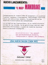 Verso de Sargento Furia Vol.1 (Sgt. Fury) -6- La fortaleza del desierto