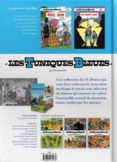 Verso de Les tuniques Bleues présentent -1- Les grandes batailles