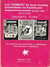 Verso de Coronel Furia -8- El asesinato de Nick Furia