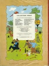 Verso de Tintin (Historique) -7B29- L'île noire
