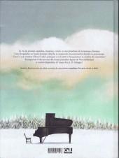 Verso de Glenn Gould, une vie à contretemps