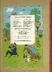 Verso de Tintin (Historique) -9B27- Le crabe aux pinces d'or