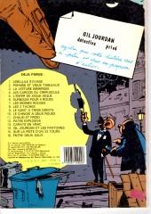 Verso de Gil Jourdan -14b83- Gil Jourdan et les fantômes