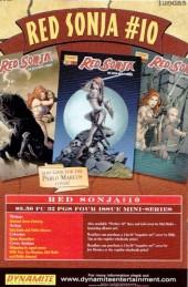 Verso de Red Sonja (2005) -9- Arrowsmith Part 2