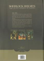 Verso de Sherlock Holmes & Les Vampires de Londres -2a- Morts et Vifs