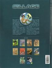 Verso de Sillage -1b2008- A feu et à cendres