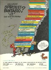 Verso de Spirou et Fantasio -10d76- Les pirates du silence