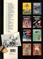 Verso de Spirou et Fantasio -6c1989- La corne de rhinocéros