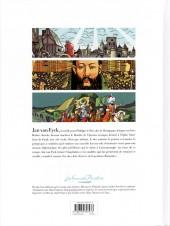 Verso de Les grands Peintres -1- Jan van Eyck