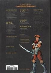 Verso de Lanfeust et les mondes de Troy - La collection (Hachette) -7- Lanfeust de Troy - Les pétaures se cachent pour mourir
