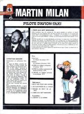 Verso de Martin Milan (2e Série) -4- L'Emir aux 7 Bédouins