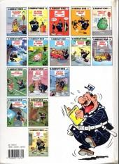 Verso de L'agent 212 -11a1994- Sifflez dans le ballon !