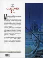 Verso de Giacomo C. -1d06- Le masque dans la bouche d'ombre