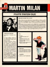 Verso de Martin Milan (2e Série) -3- Adeline du bout de la nuit