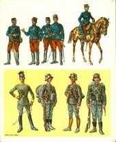 Verso de (AUT) Funcken -U6 2- L'uniforme et les armes des soldats de la guerre 1914-1918