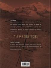 Verso de Réincarnations -1- La Fondation Kendall