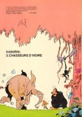 Verso de Boulouloum et Guiliguili (Les jungles perdues) -1- Le grand safari