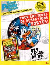 Verso de Picsou Magazine -509- Picsou Magazine n° 509