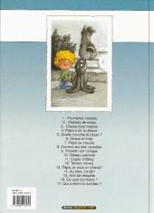 Verso de Cédric -11b2003- Cygne d'étang