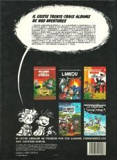 Verso de Spirou et Fantasio -29a1984- Des haricots partout