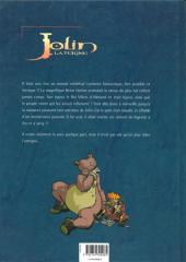 Verso de Jolin la teigne -1- L'ours en ferraille
