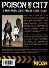 Verso de Poison City -1- Poison City 1/2
