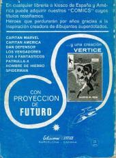 Verso de Capitán América (Vol. 1) -1- Surge el Capitán América