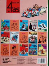 Verso de Les 4 as -13a1985- Les 4 as et la bombe F