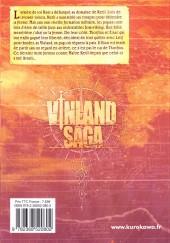 Verso de Vinland Saga -14- Tome 14