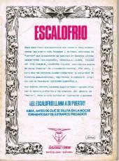 Verso de Escalofrio presenta -1- Vampire tales 1