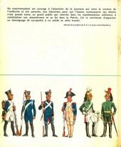 Verso de (AUT) Funcken -U4 1- L'uniforme et les armes des soldats du premier empire