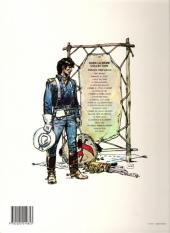 Verso de Blueberry (La Jeunesse de) -2b1989- Un yankee nommé Blueberry