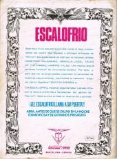 Verso de Escalofrio presenta -5- Tales of the zombie 2