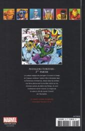 Verso de Marvel Comics - La collection (Hachette) -2817- Avengers - Forever, 2ème partie