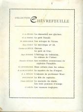 Verso de (AUT) Craenhals - La fille du capitaine