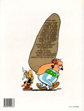 Verso de Astérix -11c1989- Le bouclier Arverne