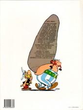 Verso de Astérix -13d1988- Astérix et le chaudron