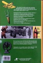 Verso de (AUT) Hergé - La Géographie et l'Histoire dans l'œuvre d'Hergé