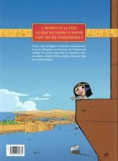 Verso de Cléo, la petite pharaonne -1- La petite / grande pharaonne