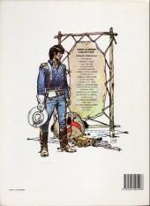Verso de Blueberry -11c1987- La mine de l'Allemand perdu