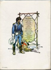 Verso de Blueberry -15a1979- Ballade pour un cercueil