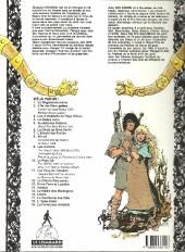 Verso de Thorgal -9b93- Les archers