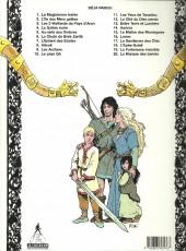 Verso de Thorgal -11b 95- Les yeux de Tanatloc