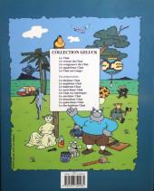Verso de Le chat -5- Le Chat au Congo