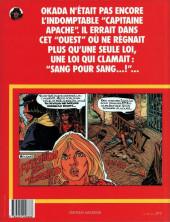 Verso de Capitaine Apache -5- Sang pour sang