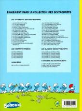 Verso de Les schtroumpfs -24a- Salade de Schtroumpfs