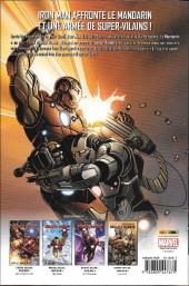 Verso de Invincible Iron Man (The) (Marvel Deluxe) -5- Démon