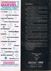 Verso de Super Heroes presenta (Vol. 2) -4- Caos en el centro de la tierra