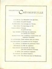 Verso de (AUT) Craenhals - L'odyssée du professeur Moor