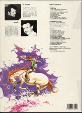 Verso de Comanche -10a1983- Le corps d'Algernon Brown